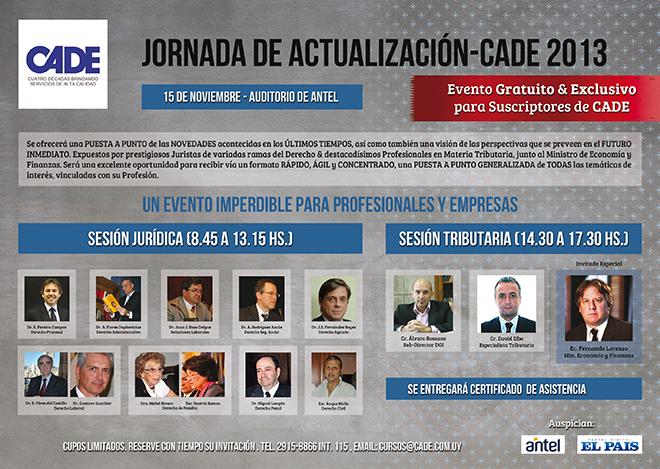 Jornada de Actualización CADE