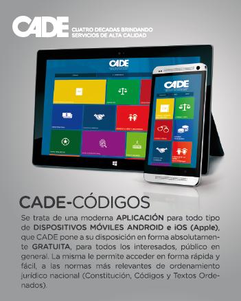 CADE-Códigos