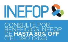 CONSULTE POR BENEFICIOS INEFOP DE HASTA 80% off (Tel. 2917 0425)